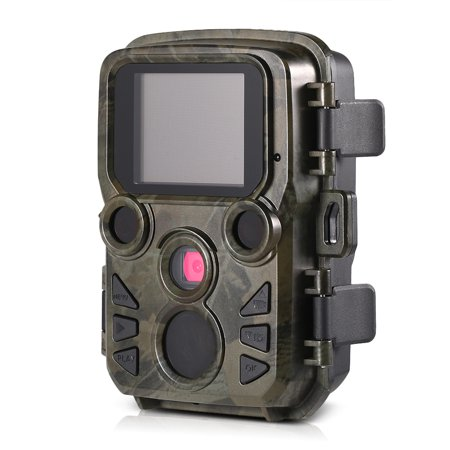 12MP 1080P Mini Trail Camera Hunting Game Camera Outdoor Wildlife Scouting Camera with PIR Sensor 0.45s Super Fast Trigger IP66 (Fulllight Tech 12mp 1080p Mini Trail Game Camera)