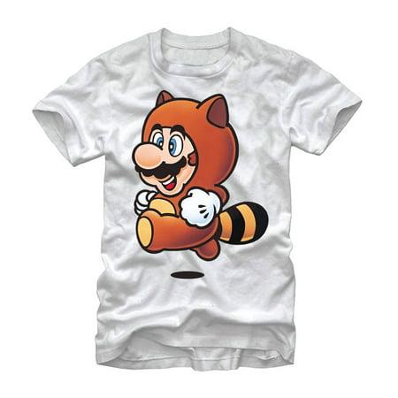 Tanooki Suit Mario (Nintendo Mario Tanooki Suit Mens Graphic T Shirt)
