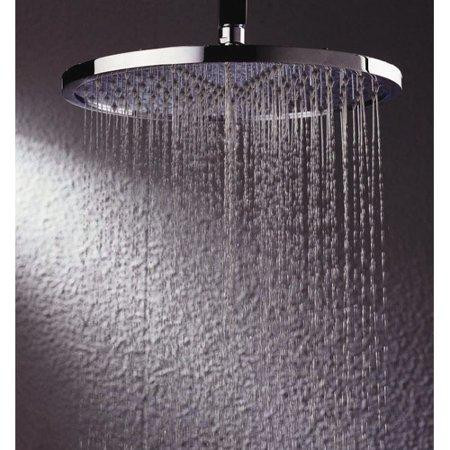 Blvd Products Zale Round Ceiling Shower Head