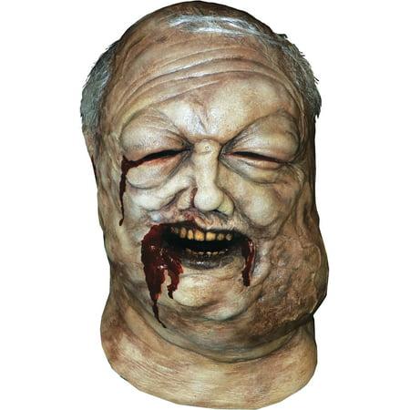 AMC The Walking Dead Well Walker Zombie Full Head Mask, Off-White, - Amc Halloween