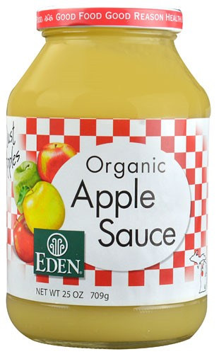 Eden Foods Organic Applesauce 25 Ounce by Eden Foods