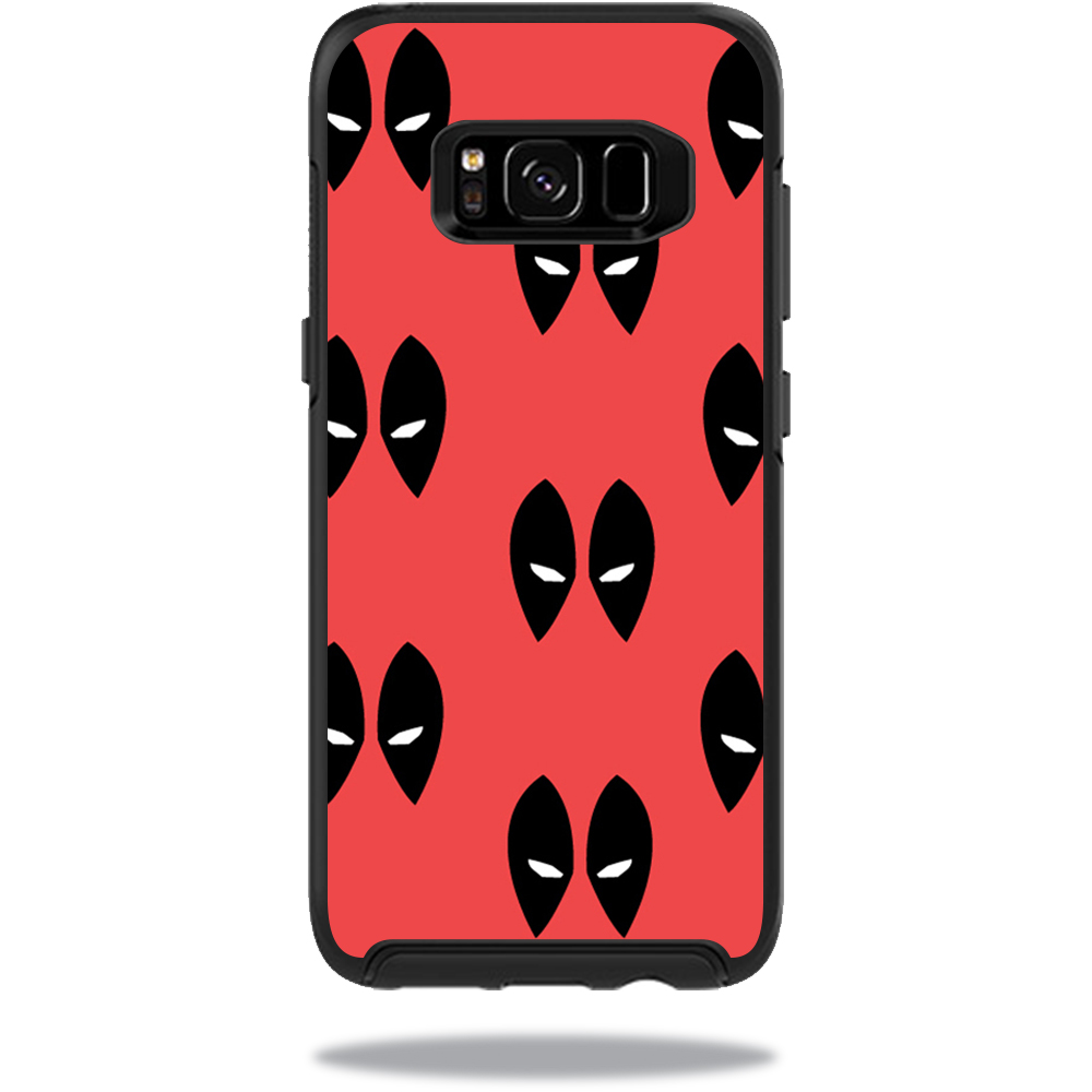 MightySkins Protective Vinyl Skin Decal for OtterBox SymmetrySamsung Galaxy S8 Case sticker wrap cover sticker skins Dead Eyes Pool