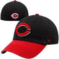 Cincinnati Reds '47 Alternate Franchise Fitted Hat - Black