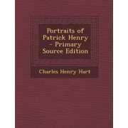 Portraits of Patrick Henry