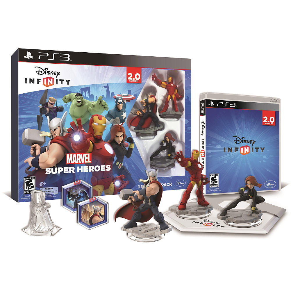 Disney Infinity 2.0 Edition: Marvel Super Heroes Starter Pack PlayStation 3- XSDP -1205490000000 In Disney... by