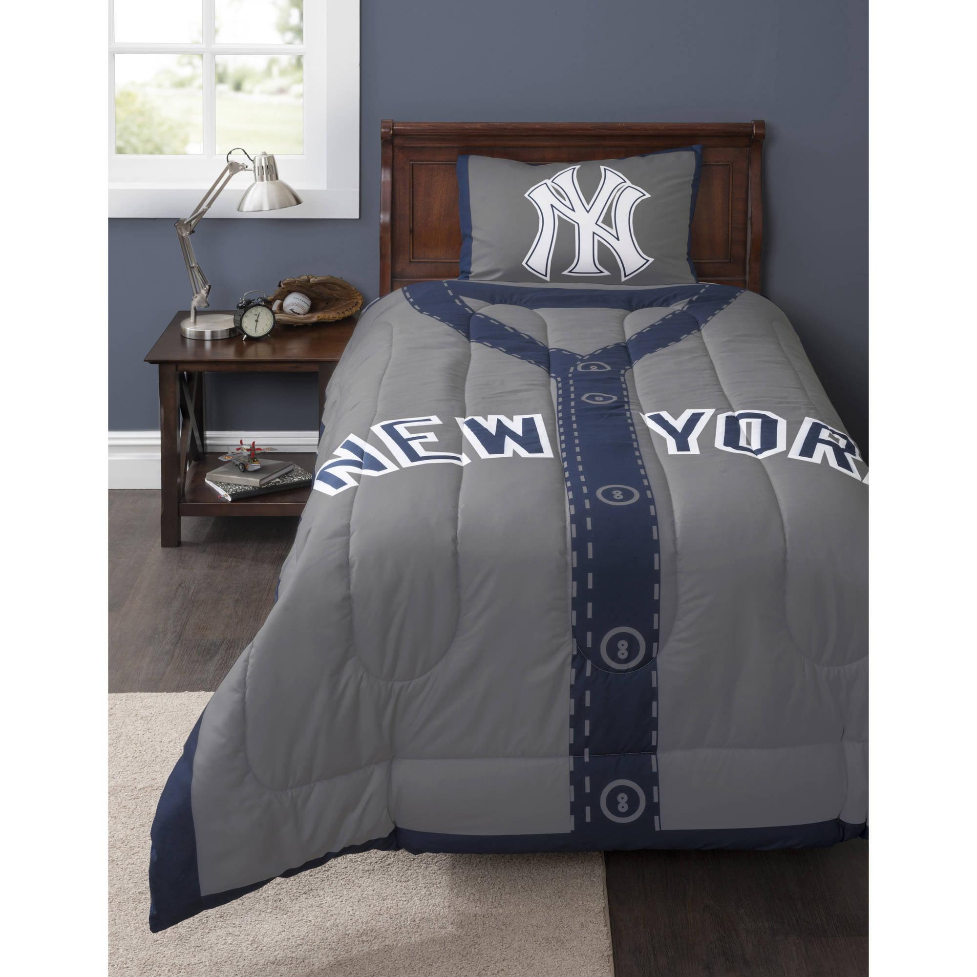 MLB New York Yankees Grand Slam Bedding Comforter Set