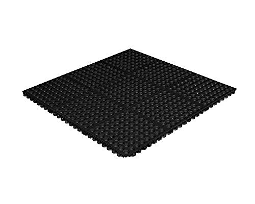 """CROWN MATS (LUDLOW COMPOSITES CORP) KDSR33GT #753 DURA-STEP II 5/8"""" BLACK WITH GRIT-TOP 3'X3'"""
