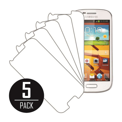Samsung Galaxy Prevail 2, Screen Protectors, 5-Pack, Clear