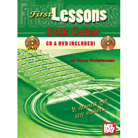 Mel Bay's First Lessons: First Lessons Folk Guitar Method (Paperback)