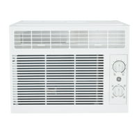 GE 5000 BTU 115-Volt Mechanical Room Air Conditioner for Small Rooms up to 150 Sq. Ft., White, AHT05LZ