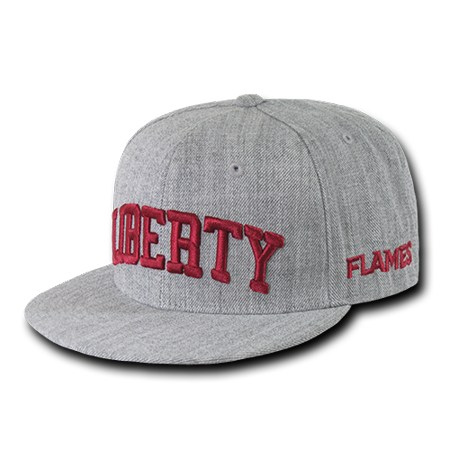 NCAA Liberty University Flames Game Day Fitted Caps Hats](Statue Of Liberty Hats)