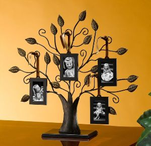 13 Medium Bronze Family Tree Of Life Centerpiece Display Stand With