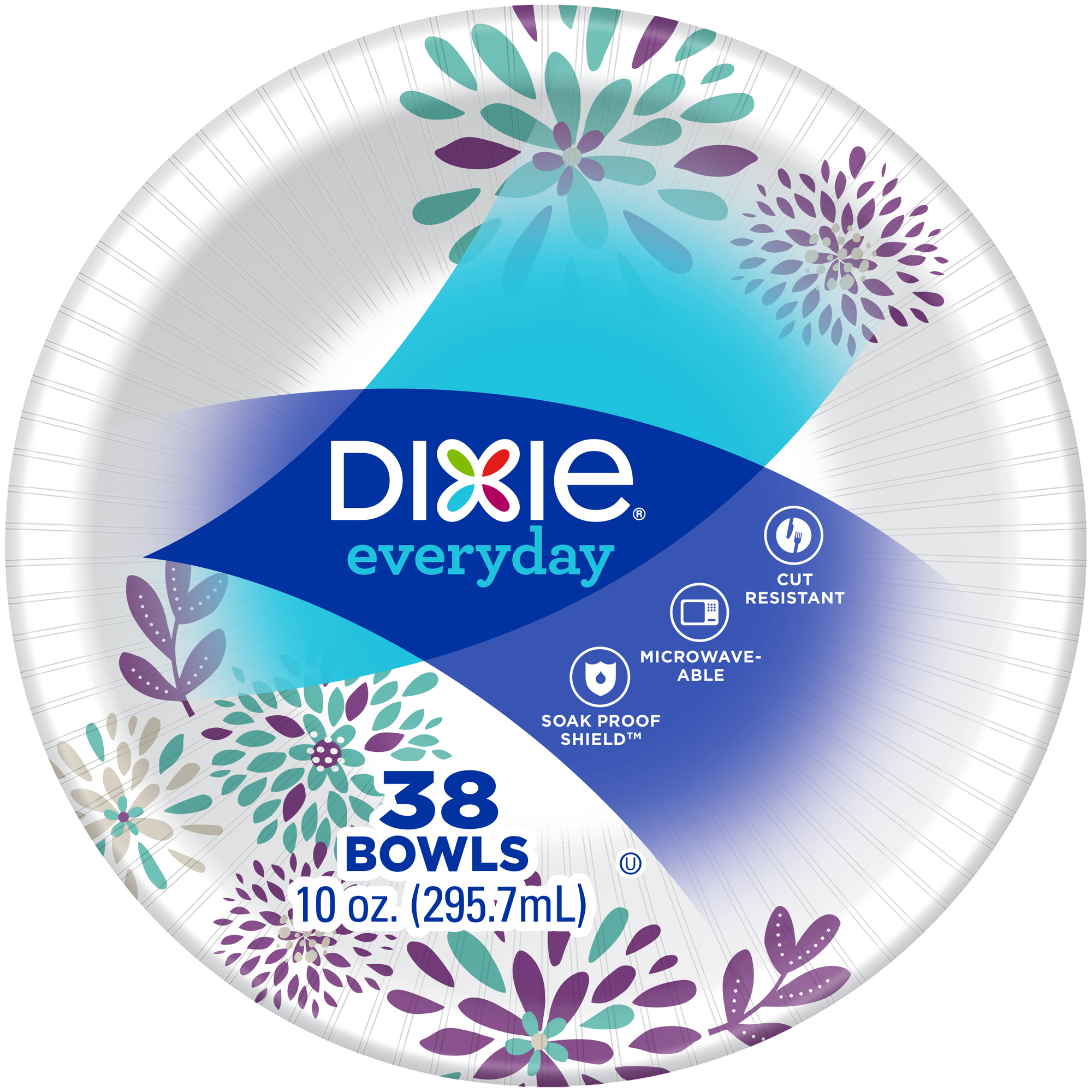 Dixie Everyday Paper Bowls, 10 Oz, 38 Count