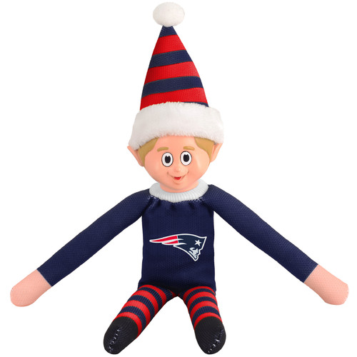 Forever Collectibles NFL Team Elf, New England Patriots