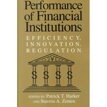 Performance Of Financial Institutions  9780521777674