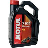 Motul 104101 7100 4T Synthetic Ester Motor Oil - 10W60 - 4L.