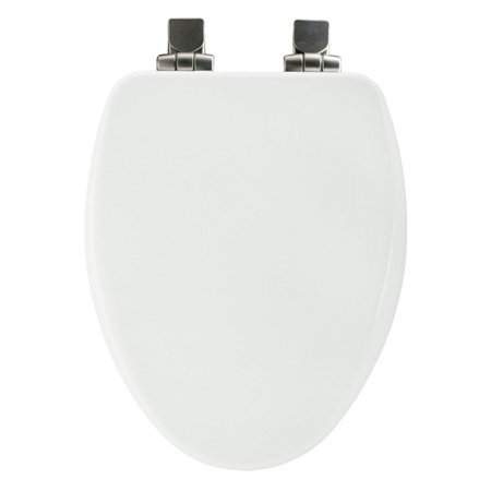 Bemis 19170NISL Wood Elongated Slow Close Toilet Seat Available In Various C