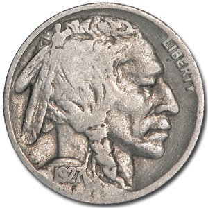 1927 Buffalo Nickel Good+
