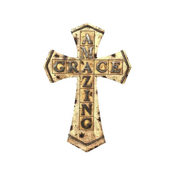 Crosses Wall Decor Amazing Grace Cross