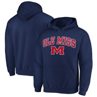 Fanatics Branded Ole Miss Rebels Campus Pullover Hoodie - Navy
