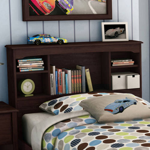 South Shore Willow Twin Bookcase Headboard, 39'', Multiple Colors