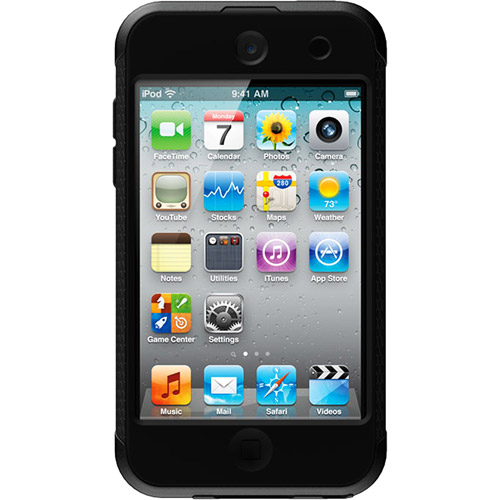 OtterBox Commuter Series Carrying Case for iPod touch 4G, Black/Black