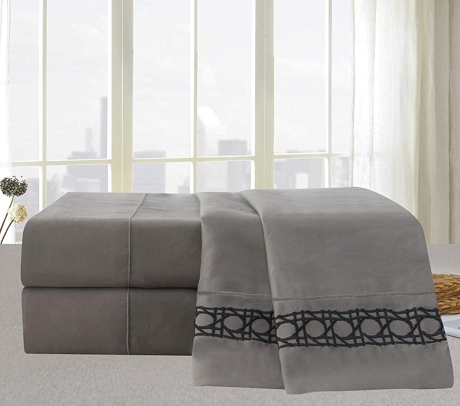 Beach Fitted Sheet Cover with All-Round Elastic Pocket in 4 Sizes