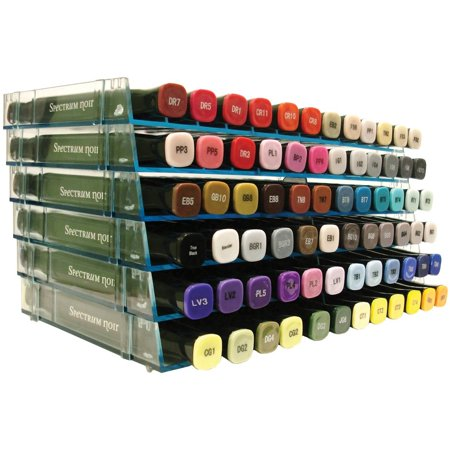Ultimate Pen Storage Rack - 1 Tray, The Crafter's Companion Ultimate Pen Storage Rack is great for holding art pens, alcohol markers, and more up to.., By Darice (Marker Buoy Rack)