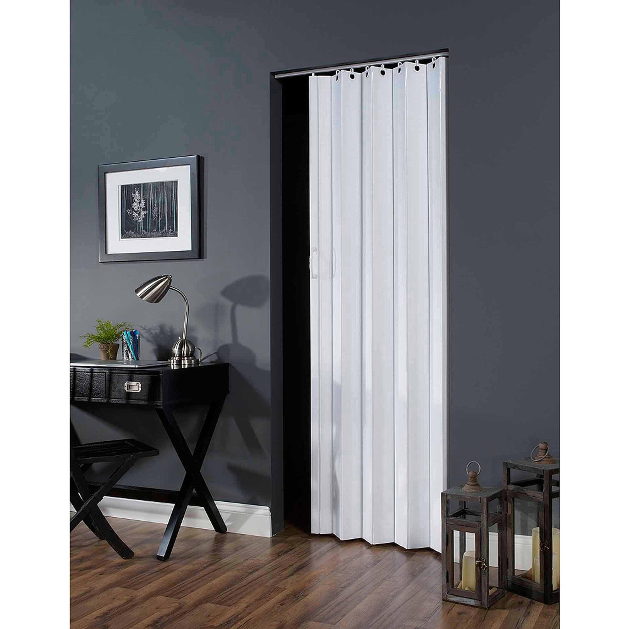 """Deco 36"""" x 80"""" Folding Door, White - Walmart"""