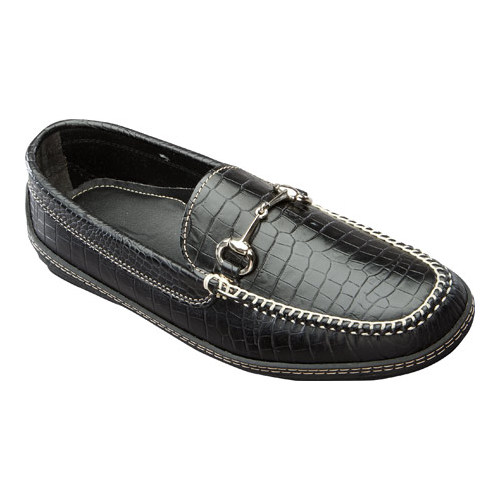 Men's David Spencer Croco Horse Bit Driver by