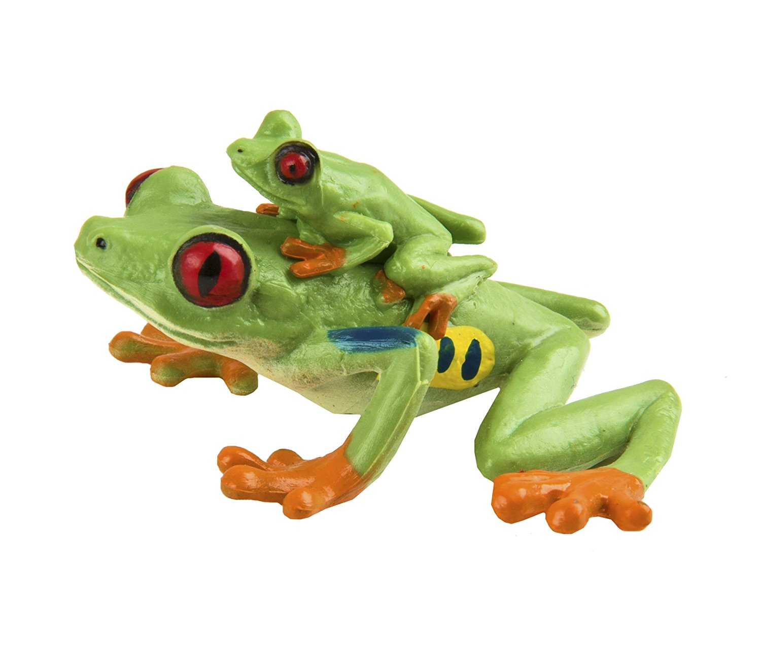 .Mojo RED EYED TREE FROG Wild zoo animals play model figure toys plastic jungle
