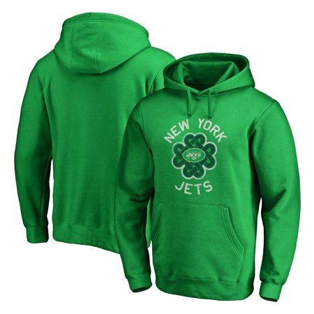 outlet store 8eec0 4b25a New York Jets NFL Pro Line by Fanatics Branded St. Patrick's Day Luck  Tradition Pullover Hoodie - Kelly Green
