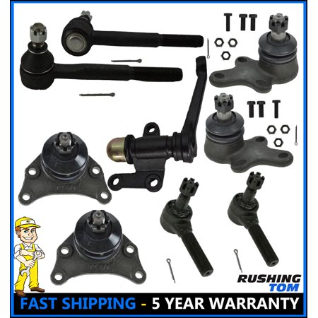 Front Ball Joint Tie Rod End 9 Pc Suspension Kit Set for 89-95 Toyota Pickup - Front End Suspension Parts