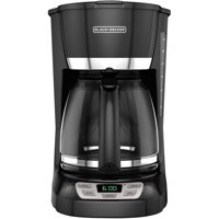 BLACK+DECKER 12-Cup Programmable Coffee Maker (Black)