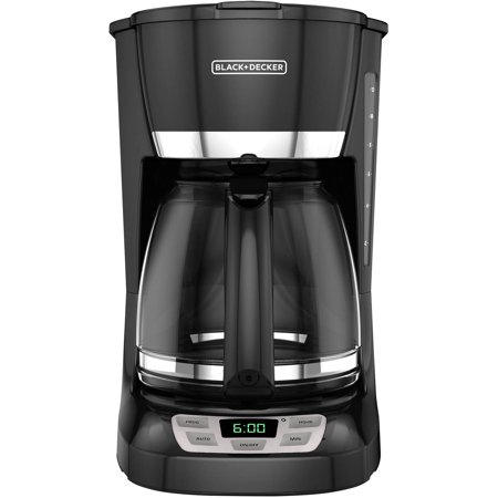 BLACK+DECKER 12-Cup Programmable Coffee Maker, CM1060B