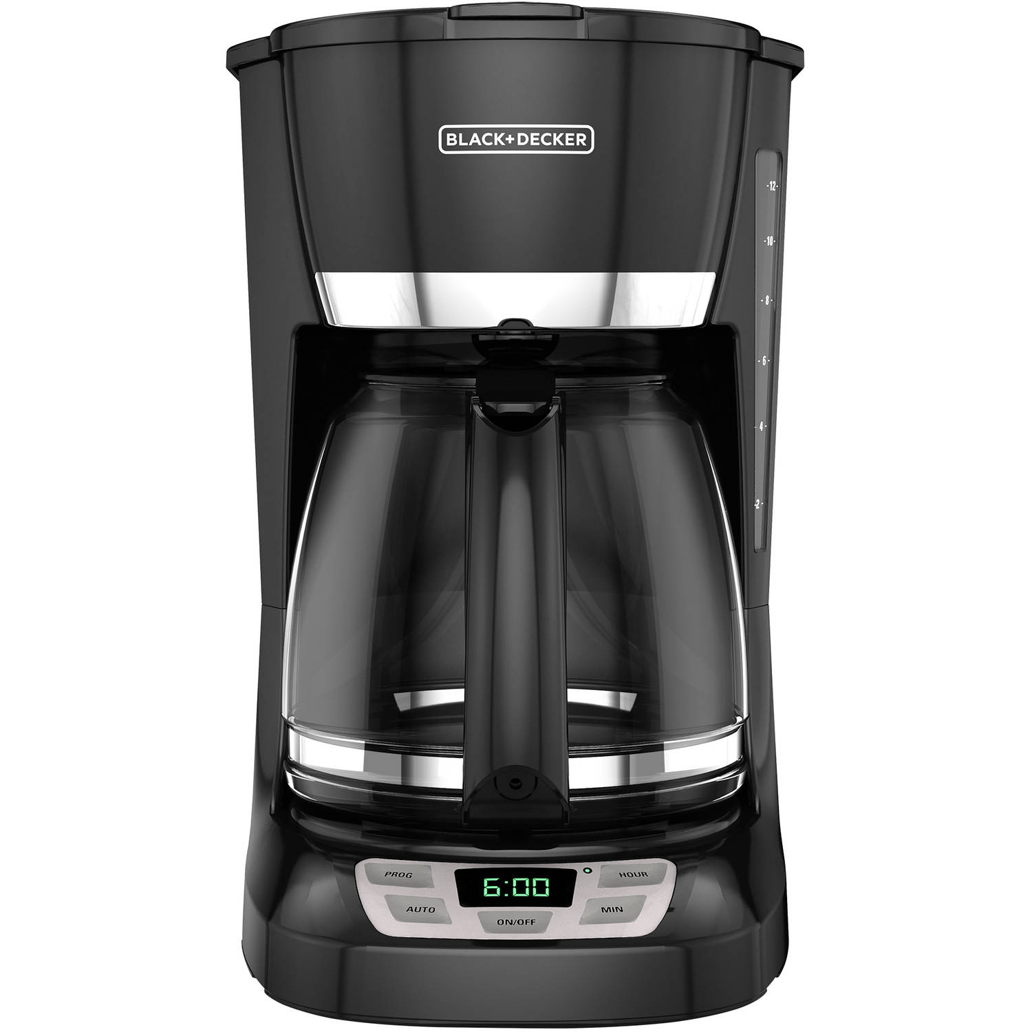 BLACK+DECKER 12 Cup Programmable Coffee Maker, CM1060B