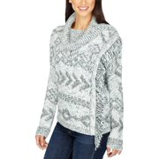 Lucky Brand Womens Knit Cowl Neck Pullover Sweater