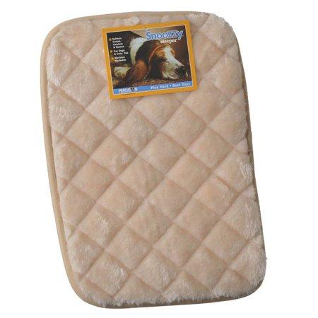 Precision Pet SnooZZy Sleeper - Tan Mini 1000 (18 Long x 13 Wide) - Pack of (Precision Pet Snoozzy Sleeper)