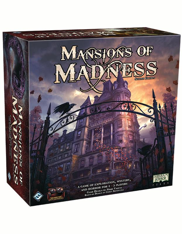 Mansions of Madness 2nd Edition Cooperative Board Game by Asmodee North America