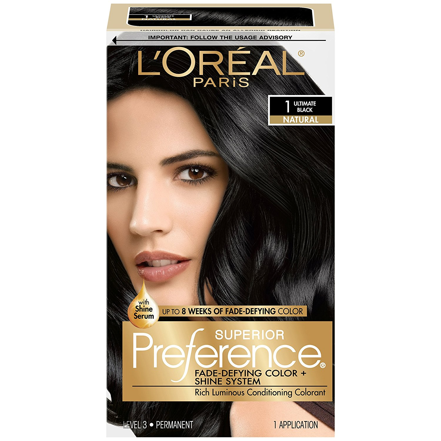Loreal Paris Superior Preference Fade Defying Color Shine System