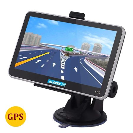 Car GPS Navigator System 5-Inch Portable Vehicle GPS 8GB with Touchsc reen  Free Map Update