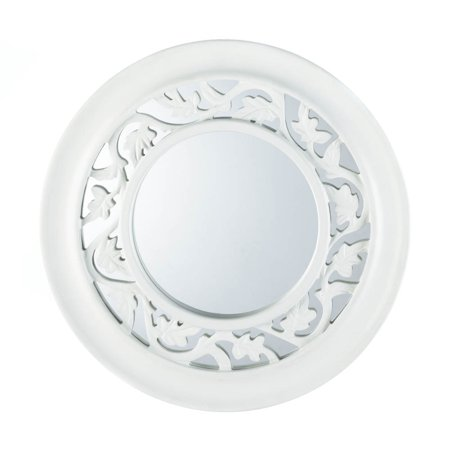 Wall Mirrors Decorative, Mirror Wall Art, Antique White Ivy Wall ...