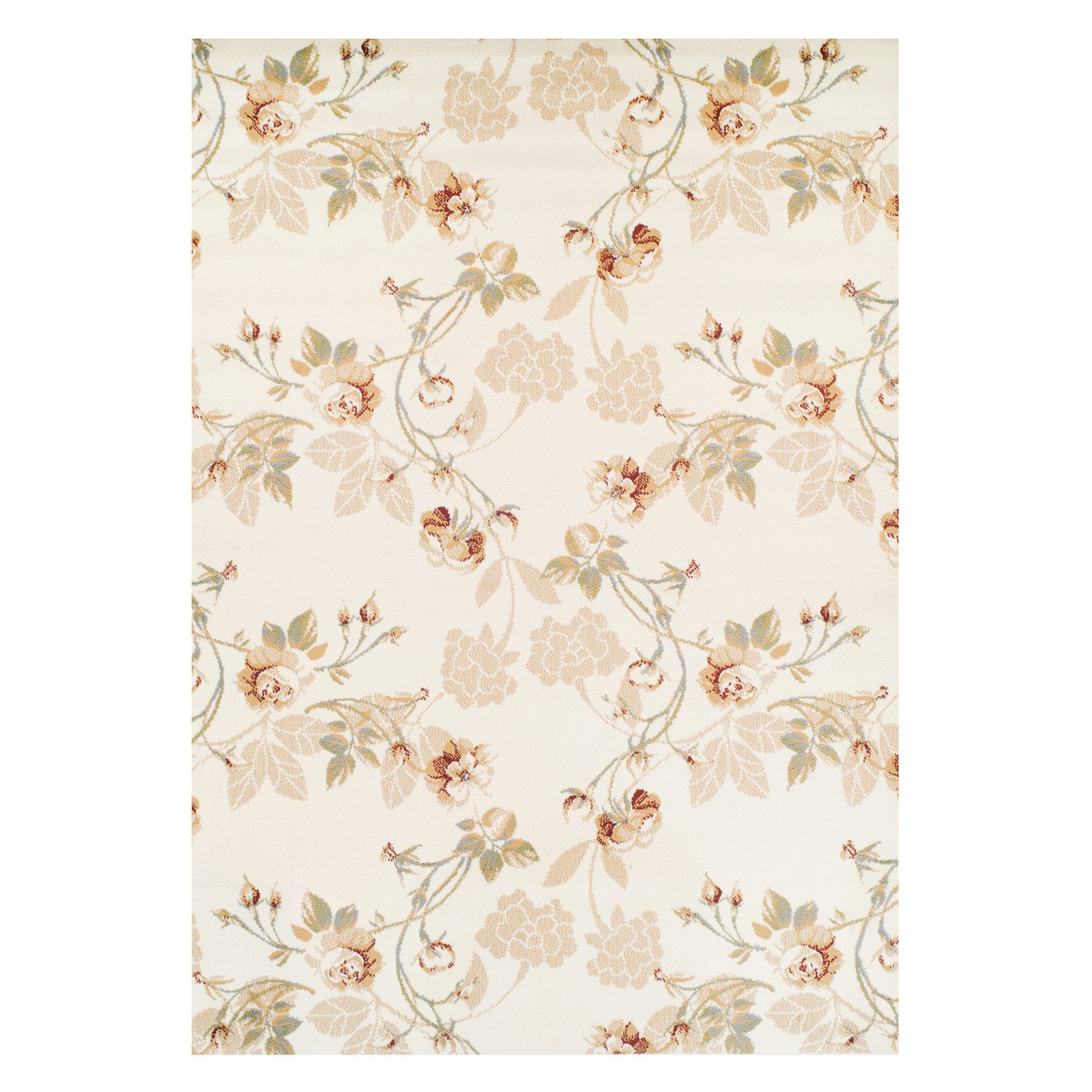Ferrera Collection Area Rug Lily Tan Walmart Com