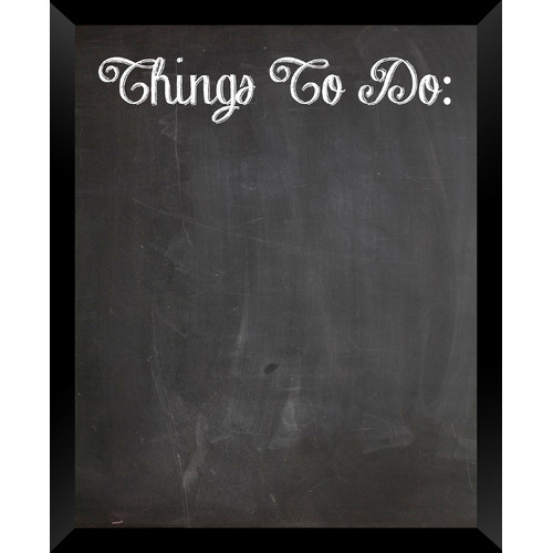 PTM Images Things to Do Wall Mounted Chalkboard