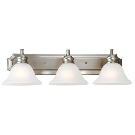 Design House 510263 Bristol 3-Light Vanity Light, Satin (Bristol Place One Light)