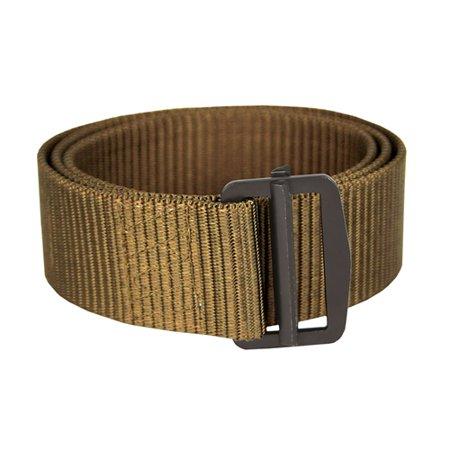 Tactical Belt with Metal Buckle- Coyote (S)
