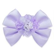 Expo Int'l Ava Bow Triple Flower Embellishment w/clip