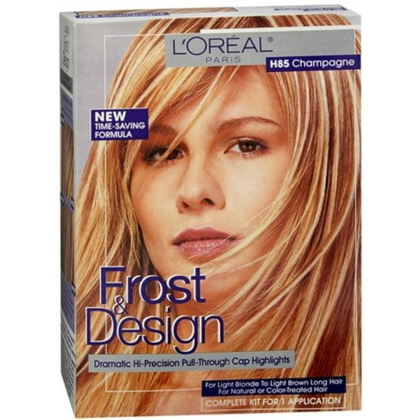 L Oreal Frost Design Highlights H85 Champagne Pack Of 3 Walmart Com Walmart Com