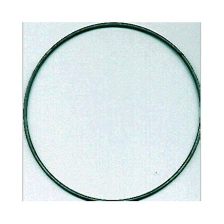 Tandy leather factory bulk metal ring 7 inch silver for Metal craft rings walmart