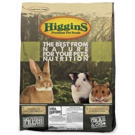 Higgins Vita Garden Hamster & Gerbil Small Animal Food, 22 Lb ()